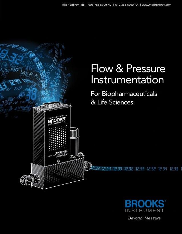 Flow & Pressure Instrumentation For Biopharmaceuticals & Life Sciences Miller Energy, Inc.   908-755-6700 NJ   610-363-620...