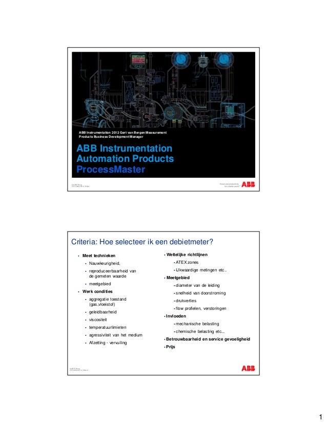 abb instrumentation automation products processmaster rh slideshare net ABB Robotics Manuals ABB Variable Speed Drives