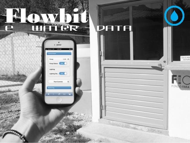 le water data Flowbit