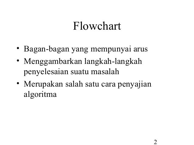 Flowchart (diagram alur) Slide 2