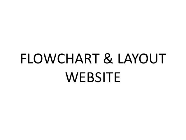 Flowchart Layout Website
