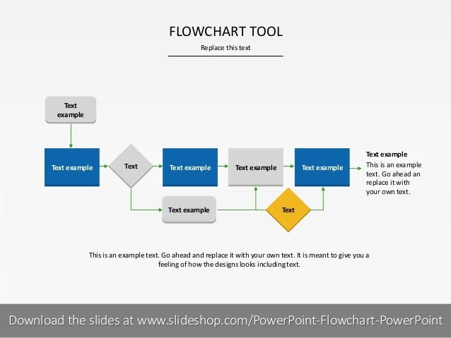 how to draw flow chart in ppt