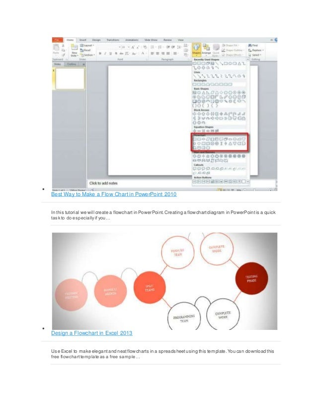 Flow chart power point 14 best way to make a flow chart in powerpoint 2010 ccuart Choice Image