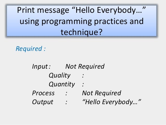 Programming Flowcharts For C Language