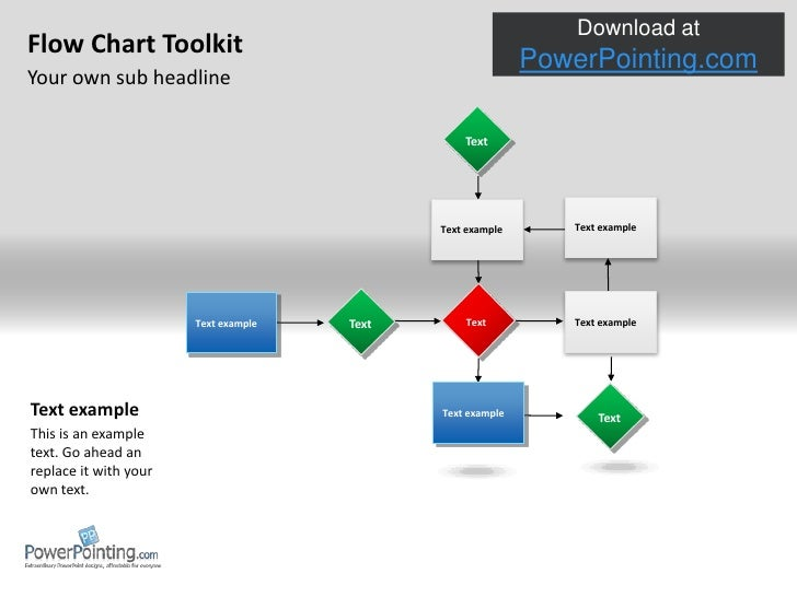 Powerpoint flow chart tool project example flow chart tool describe the problem can we solve it in house ccuart Images