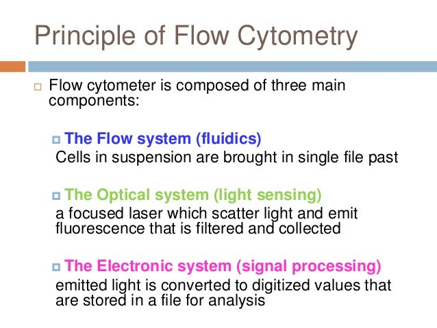 flow cytometry Flow cytometry is an ever-evolving field, and new technologies and innovations seem to emerge every week so how is a scientist supposed to keep abreast of so much.
