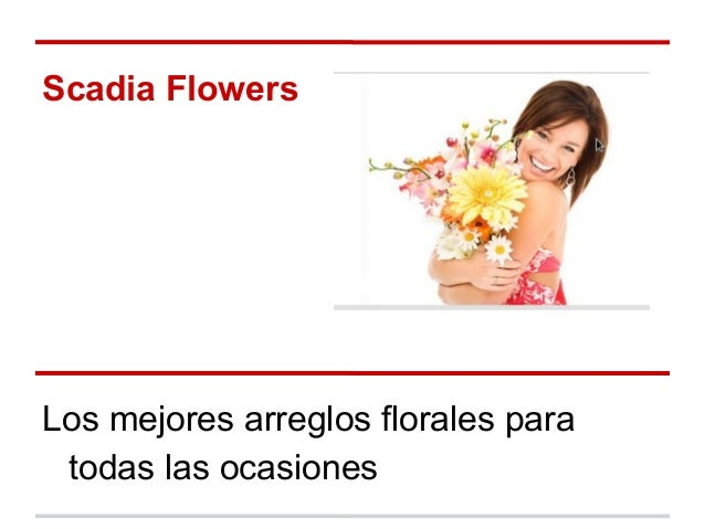 Scadia Flowers Los mejores arreglos florales para todas las ocasiones