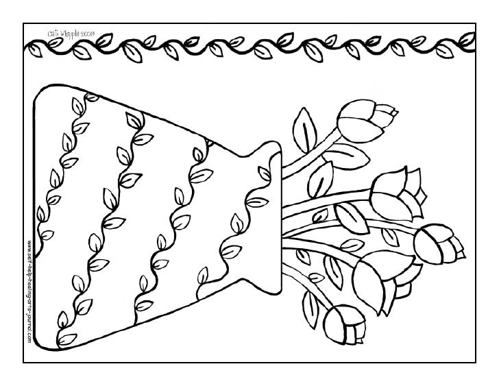 Dorable Mary Engelbreit Flowers Coloring Pages Mold - Resume Ideas ...