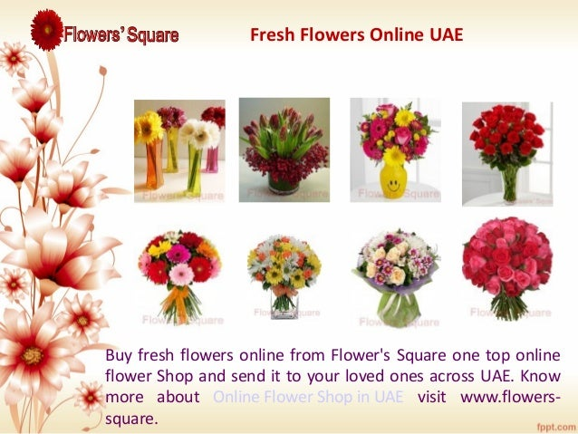 Shop flowers online