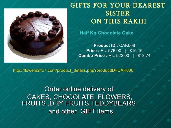 GIFTS FOR YOUR DEAREST                                     SISTER                                 ON THIS RAKHI           ...