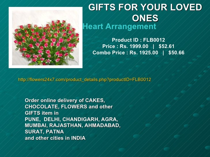 GIFTS FOR YOUR LOVED                                       ONES                            Heart Arrangement              ...
