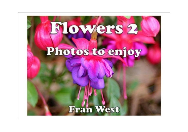 Flowers 2 Kindle Book Available from Amazon.com In this picture book there are 20 colorful photos of different flowers ori...