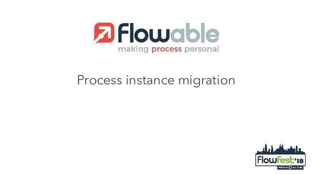 Process instance migration