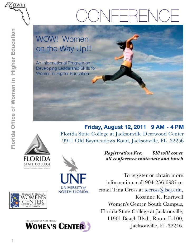Florida Office of Women in Higher Education                                                                   CONFERENCE  ...
