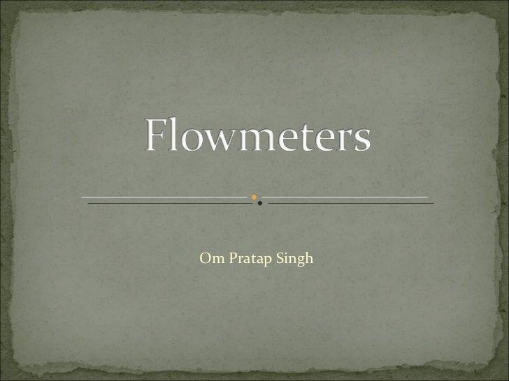 Om Pratap Singh
