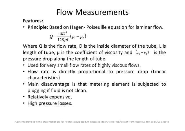 Hagen–Poiseuille equation - Wikipedia