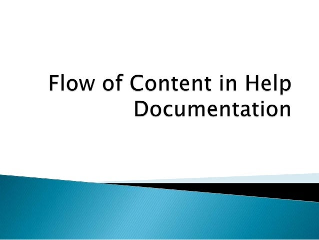  •  Content Quality Flow of Content in Guides (Targeting Various Audience) • • • • •  •  General Guidelines Installation ...
