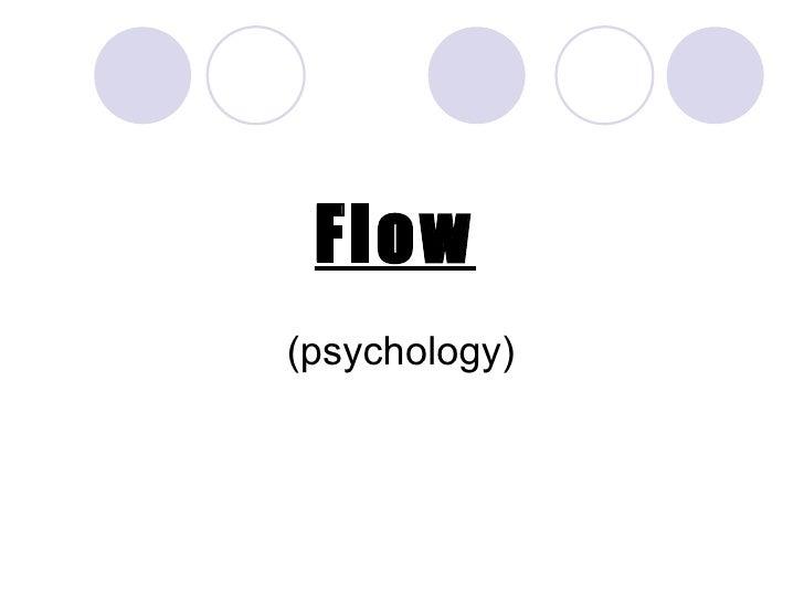 Flow(psychology)