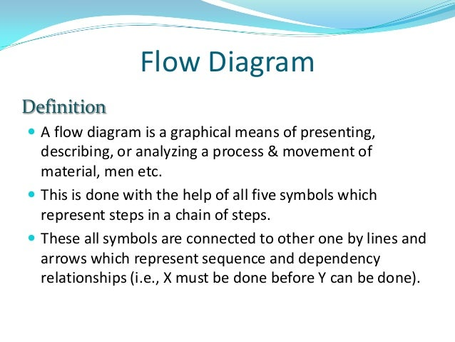 Flow process chart flow diagram definition ccuart Gallery