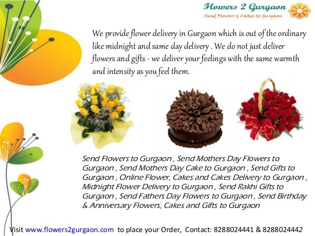 Send Birthday Flowers To Gurgaon