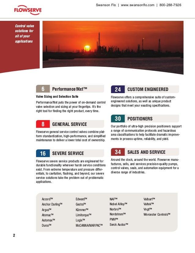 Flowserve Control Valve Product Guide (Valtek, Kammer) Slide 2