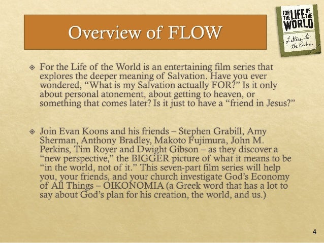 For the Life of the World: Session 1 Exile Slide 3