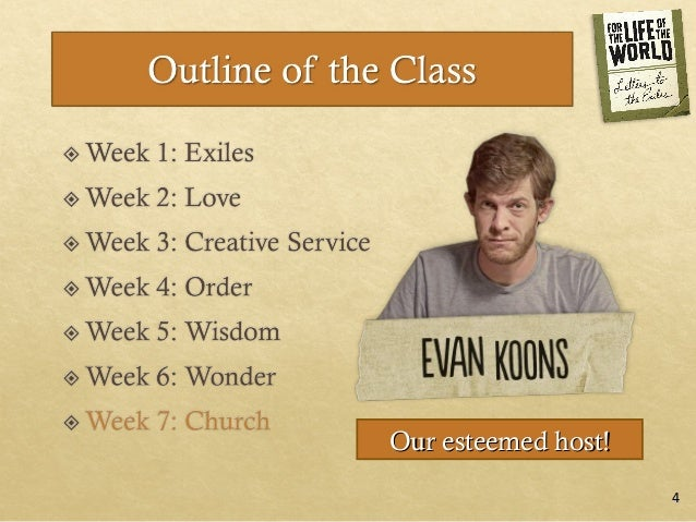 For the Life of the World: Session 7, Church Slide 3