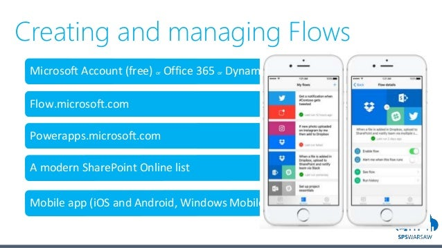 Introduction to Microsoft Flow - Introduction & advanced
