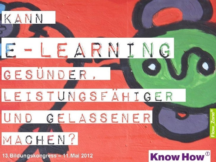 Flow Zone Know How BK Impuls E Learning Gesundheit 12-05