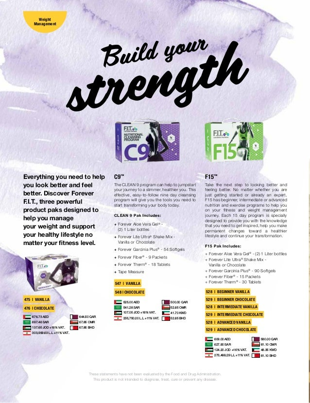 e40123dd4a2001 Forever Living Products Brochure