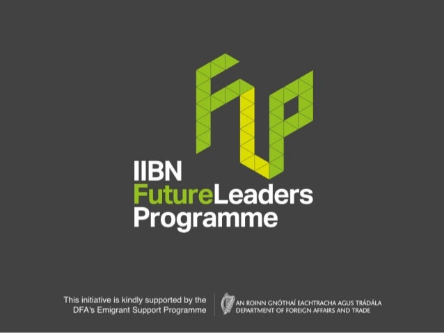 Application Forms to apply as a Future Leader or a Mentor can be completed online at http://www.iibn.com/flp/ This initiat...