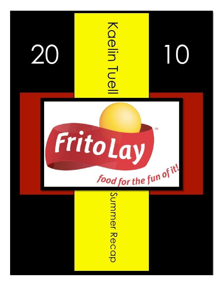 Frito Lay Recap Pdf