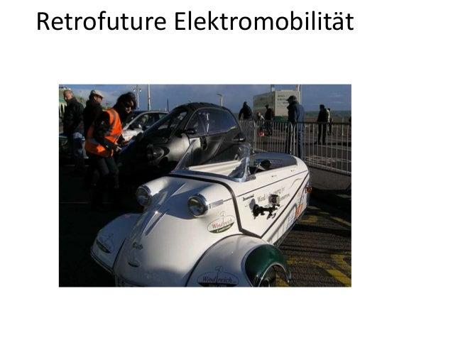 Retrofuture Elektromobilität