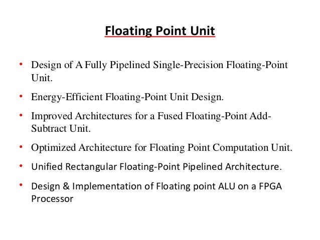 floating point and lt Floating point numbers floating point numbers (also known as floats, doubles, or real numbers) can be specified using any of the following syntaxes.