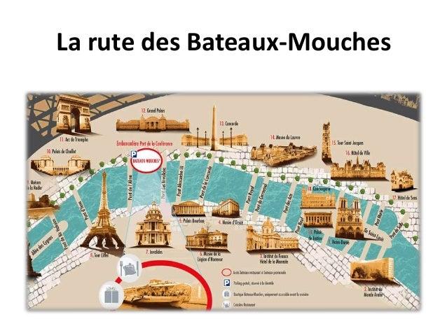 La rute des Bateaux-Mouches
