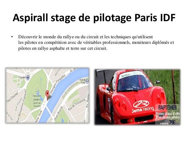 Aspirall stage de pilotage Paris IDF • Découvrir le monde du rallye ou du circuit et les techniques qu'utilisent les pilot...