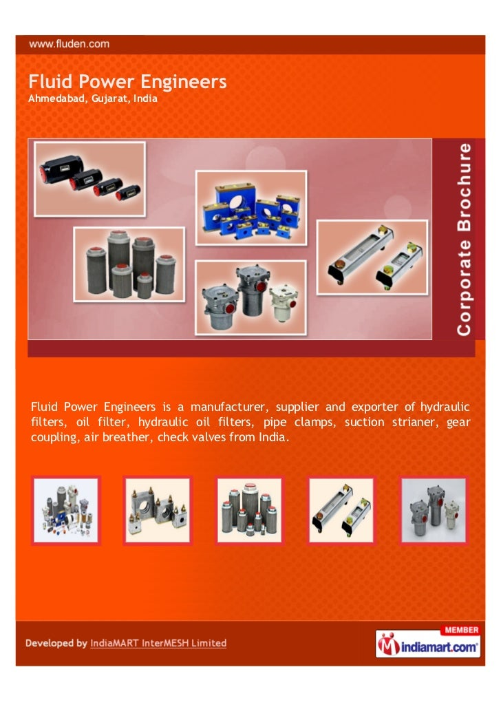 Fluid Power EngineersAhmedabad, Gujarat, IndiaFluid Power Engineers is a manufacturer, supplier and exporter of hydraulicf...