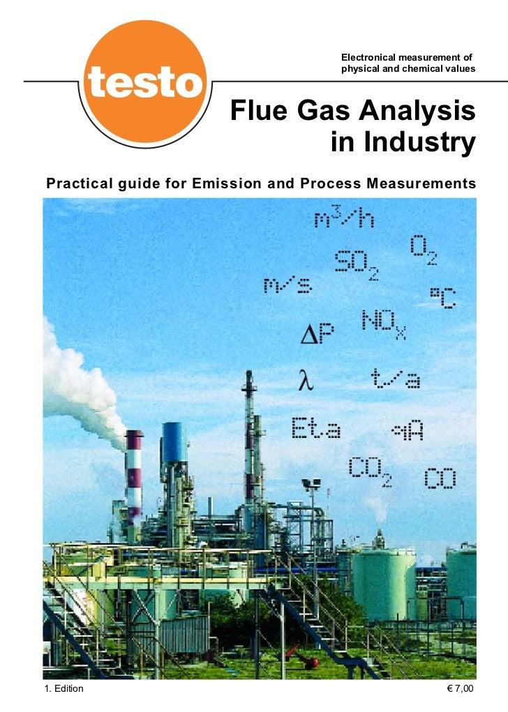 Electronical measurement of                                    physical and chemical values                      Flue Gas ...