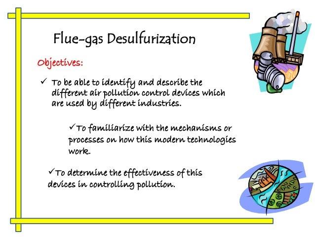 Flue Gas Desulphurization Detailed Process