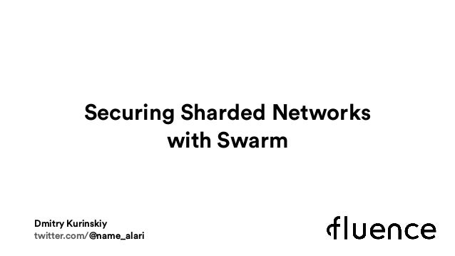 Securing Sharded Networks 