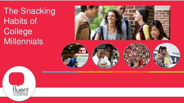 Capabilities Overview and Case Studies The Snacking Habits of College Millennials