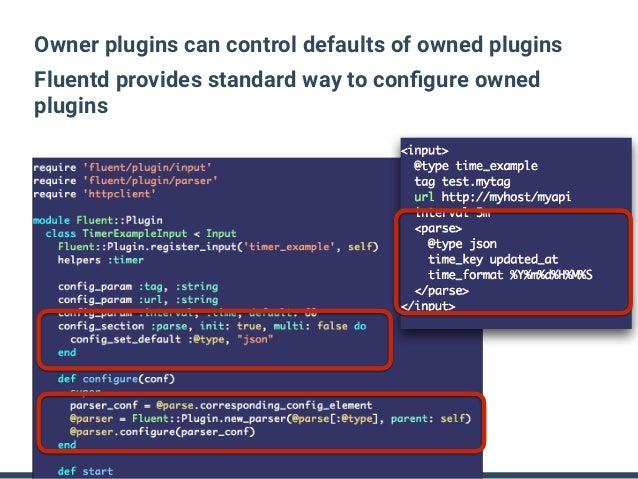 Fluentd v0 14 Plugin API Details