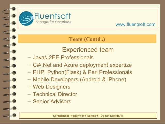 Experienced team – Java/J2EE Professionals – C#/.Net and Azure deployment expertize – PHP, Python(Flask) & Perl Profession...