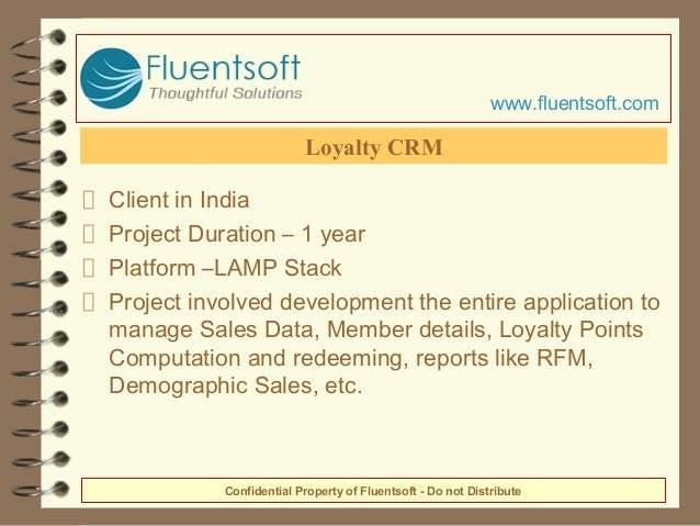 Client in India Project Duration – 1 year Platform –LAMP Stack Project involved development the entire application to mana...