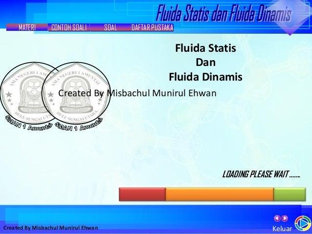 Skripsi Makalah Fluida Dinamis