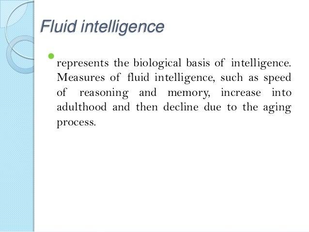 Crystallized Intelligence Example