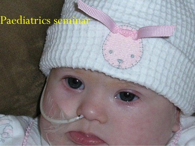 Paediatrics seminar