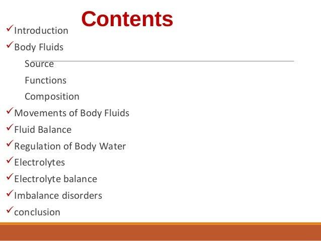 Fluid and electrolyte balance Slide 2