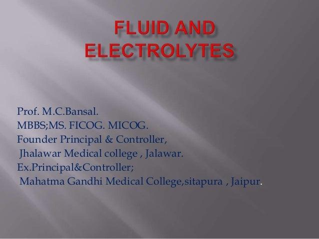Prof. M.C.Bansal. MBBS;MS. FICOG. MICOG. Founder Principal & Controller, Jhalawar Medical college , Jalawar. Ex.Principal&...