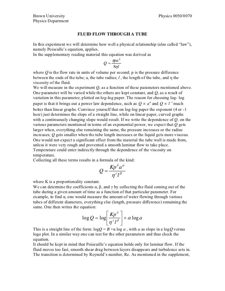 Brown University                                                        Physics 0050/0070Physics Department               ...